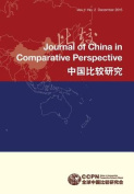Journal of China in Comparative Perspective Vol.1 No.2 2015