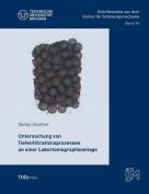 Untersuchung Von Tiefenfiltrationsprozessen an Einer Labortomographieanlage [GER]
