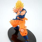 Cartoon Dragon Ball Z Son Goku Super Saiyan Pvc Action Figure Collectible Model Toy