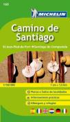 Camino de Santiago Zoom Map 160