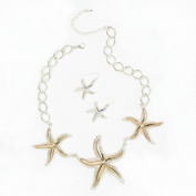 Shimmering Starfish Jewellery Set