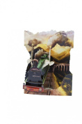 Santoro 3D Swing Greeting Card, Train