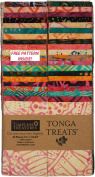 Timeless Treasures PASHMINA BATIKS Tonga Treat Strips Precut 6.4cm Cotton Fabric Quilting Strips Assortment
