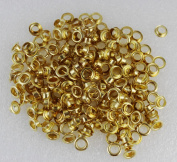 WellieSTR 500pcs 5mm Hole Metal Eyelets With Grommet Card Decoration