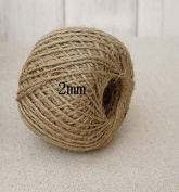 Natural Jute Twine Cord Decorative for gift packing photo wall Handmade making 1roll/lot