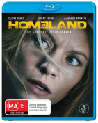 Homeland Season 5 Blu-ray  [3 Discs] [Region B] [Blu-ray]