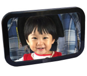 LotFancy Non-Glass Baby Mirror for Monitoring Rear-Facing Back Seated Babies in Car - Shatter-Proof, Large Size, Wide View