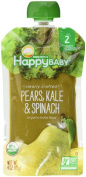 HappyBaby CC Organics Pears, Kale & Spinach Organic Baby Food