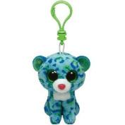 "Beanie Boos Clip - Leona The Leopard - 3""/8cm - Plush by Ty Inc."