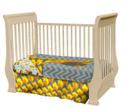 Crib Nursery Bedding Set Woodland Creatures - Adorable 3 Piece Crib Bedding Set Made from Soft Durable Microfiber