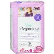 Well Beginnings Premium Training Pants Girl, Jumbo, 4T/5T 19 ea