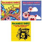 Rockabye Baby Lullaby Renditions 3 CD Set, Beatles/Pink Floyd/Bob Marley