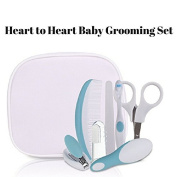 Heart to Heart Safety 1st Deluxe Baby Shower Gift Healthcare and Grooming Kit Set