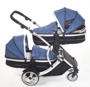 Kids Kargo Duellette 21 Combi Travel System Pram Double Pushchair