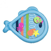 Aqua Leisure Water Filled Tummy Time Play Mat