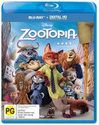 Zootopia [Blu-ray] [Region 4]