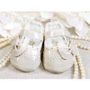 Festive Baby Shoes Ballerinas Beige Lacquered Size [17