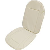 CUCSC704 - Car Seat Cushion , Seat Cover , Car Seat Protector backrest Beige Leather