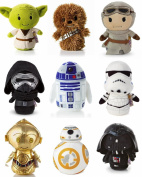 Itty Bittys - Star Wars Full Set of 9 including New Kylo Ren , Rey and BB8