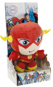 "DC COMICS - Plush Toy character ""The Flash"" with Display of the movie and TV cartoons ""THE FLASH""(sitting 7""/18cm) - Qualità super soft"