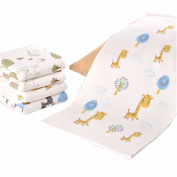 ITraveller Baby Bamboo Washcloths Wipes Organic, Soft, Use with Favourite Bath Products & Towels Most Absorbent, Durable Washcloths Best Gift Set for Baby Wipes 30cm *30cm Inches
