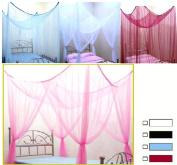 Canopy Mosquito Net Bed Canopy Bettdekoration Black