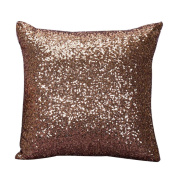 RenZhenDian Hot Glitter Sequins Fashion Sofa Bedroom Pillow Case Cover
