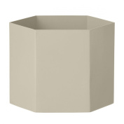 Ferm Living Hexagon Pot Grey - X-Large