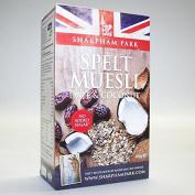 Sharpham Park | Spelt Date & Coconut Muesli | 5 x 450g