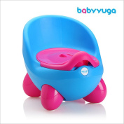 Babyyuga Potty Chair Baby Children's Potty Removable with Lid - Blue