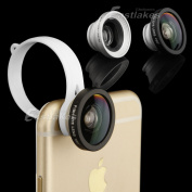 Quick Camera Lens Kit Fish Eye Wide Angle Macro for Apple iPhone 6S 6 /6 Plus