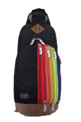 Baymate Children Shoulders Backpack Travel Rucksack With Rainbow Patterns