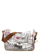 YNOT Women's Top-Handle Bag Multicolour Stampa Roma