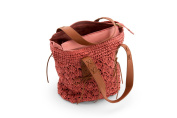 Dreiklang Bag Paris - A playful Beachbag for the trip to the beach or extended shopping tours. Effective braiding and lightweight material.