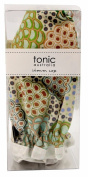 Tonic Shower Caps Dancing Flower Green
