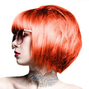Crazy Colour Unisex Semi-Permanent Colour Hair Dye 100ml - One Size, Orange