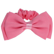 Just Fox Ribbon Braided Hair Band Ponytail Holder Bow in 2 different colours