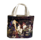 John William Waterhouse Hylas and The Nymphs Tote Shopping Bag For Life