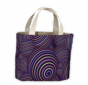 Abstract Spheres Tote Shopping Bag For Life