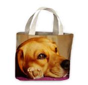 Beagle Face Close Up Tote Shopping Bag For Life