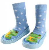 Au monde des petits Baby Girls' Booties Blue turquoise