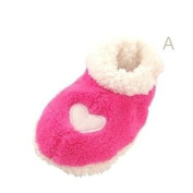 Baby Baby Shoes Padded Slippers Pink Size 13 cm
