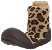 Attipas Animal Brown baby First Walker shoes - Toddler shoes slippers Size - 6,5