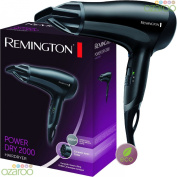 Increible Hair Dryer 2000W Remington Power Dry & Awesome New Look