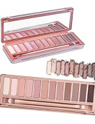 NEW 12 COLOURS MAKE UP NEUTRAL EYESHADOW PALETTE NAKED NUDE EYE SHADOW URBAN NAKE