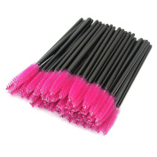 100Pcs Eyelash Brush Mascara Wands Applicator