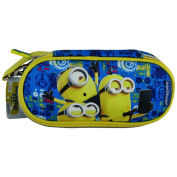 Minions Selfie Make Up Cosmetic Pochette Pencil Case Pen Holder