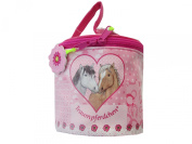 32018 BB Monastery Man Dream Horse Horses Pink Cosmetic Bag