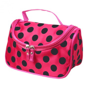 Tenflyer Cosmetic Bag Dumplings Bag Ladies Sateen Bag