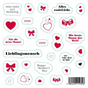 Essie Mothers Day Sticker Sheet - Pack of 1